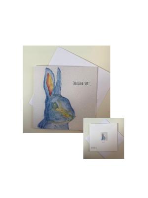 Imagine That Greetin Card by Emma Jane Leeson